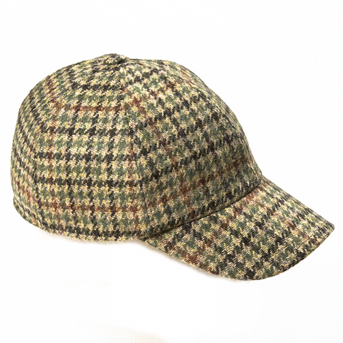 Baseball Tweed Cap - Hay (H76)